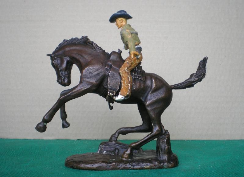 Cowboy zu Pferd mit Lasso - Umbau in der Figurengröße 7 cm 139b4b10