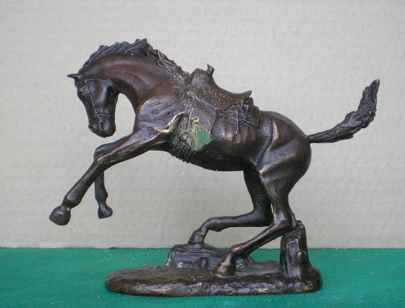 Cowboy zu Pferd mit Lasso - Umbau in der Figurengröße 7 cm 139c1b10