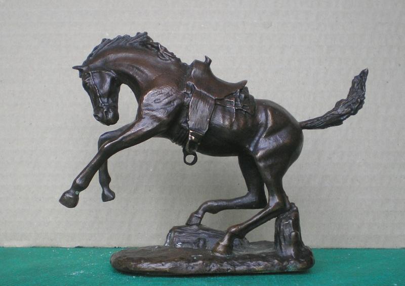 Cowboy zu Pferd mit Lasso - Umbau in der Figurengröße 7 cm 70_mm_13