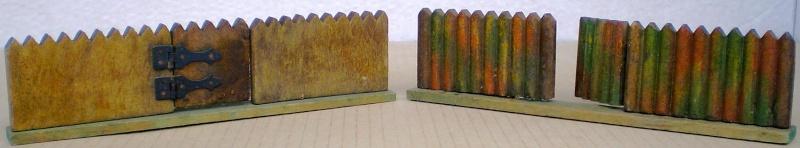 Wildwest-Gebäude aus Holz für Figuren von 54 bis 70 mm Elasto14