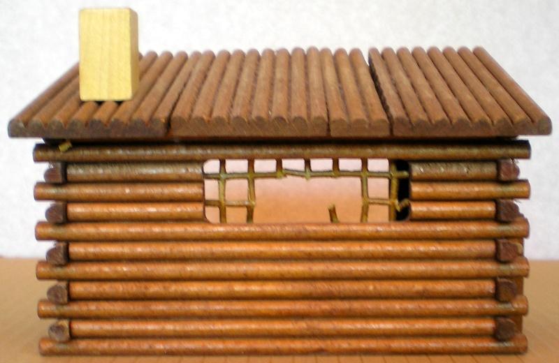 Wildwest-Gebäude aus Holz für Figuren von 54 bis 70 mm Shg_sc12