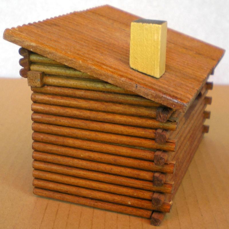 Wildwest-Gebäude aus Holz für Figuren von 54 bis 70 mm Shg_sc13