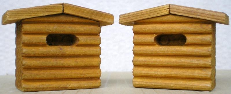 Wildwest-Gebäude aus Holz für Figuren von 54 bis 70 mm Shg_sl13