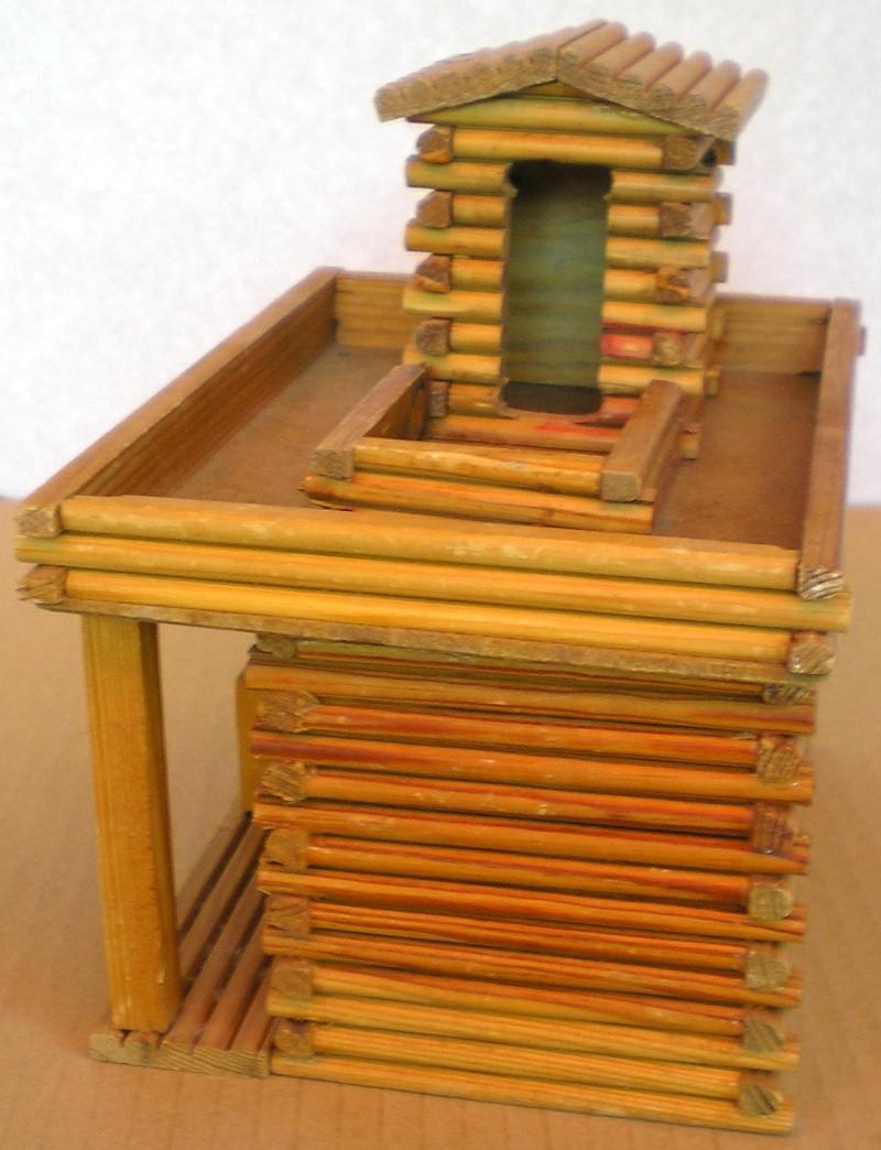 Wildwest-Gebäude aus Holz für Figuren von 54 bis 70 mm Shg_sl18