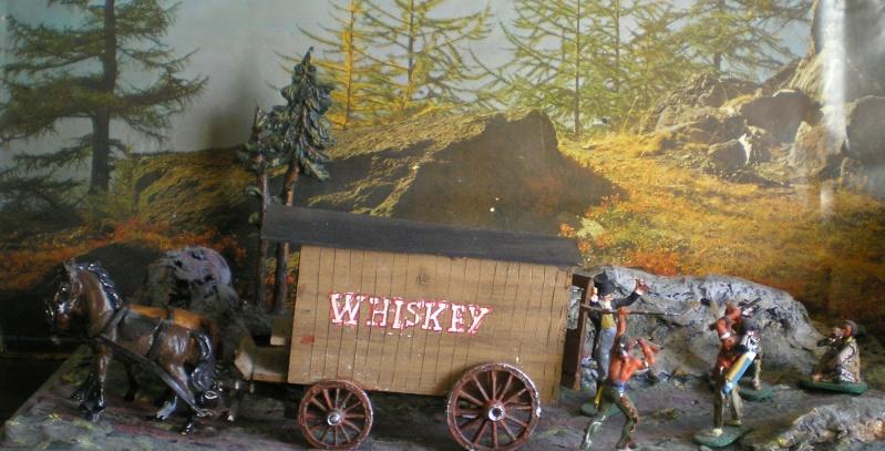 Western-Dioramen für 54 - 90 mm Figuren Whiske12