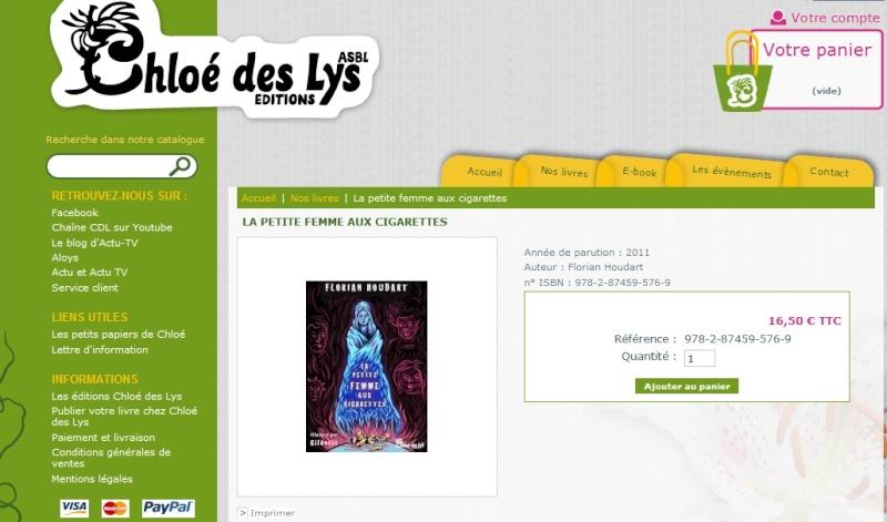 [Éditions Chloé des Lys] La petite femme aux cigarettes de Florian Houdart  Sans_t11