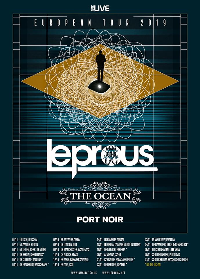 LEPROUS + THE OCEAN + PORT NOIR - nov 19 60116910