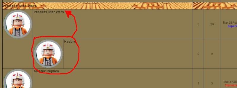 Problème de mise en page avec les catégories et forums C10