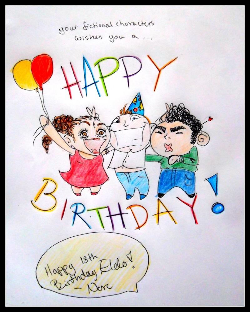 Happy 18th Birthday, ELDORION!! Happyb10