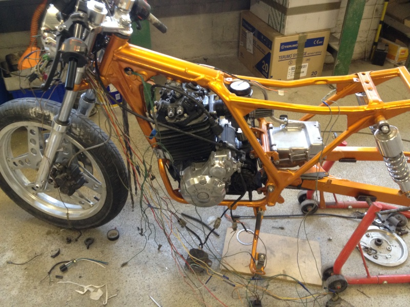 honda xbr500 cafe racer - we only have 2 months to completion - Page 3 Img_0510