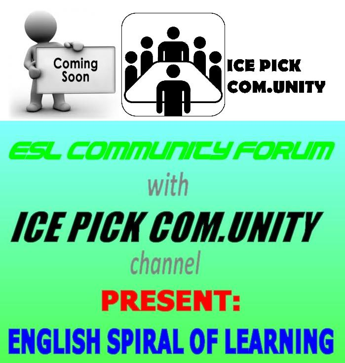 ENGLISH SPIRAL of LEARNING  Coming10