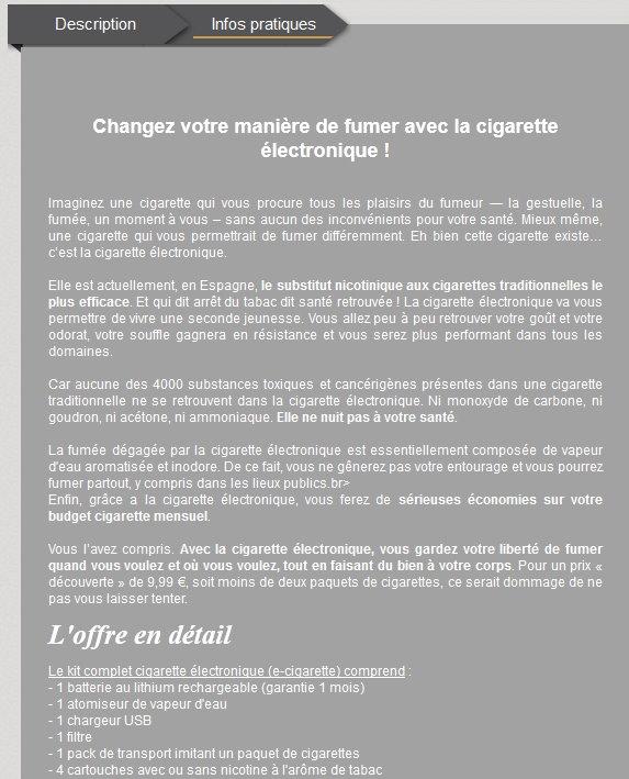 """[""""marques"""" censurées] Analyse d'un Spam Privae11"""