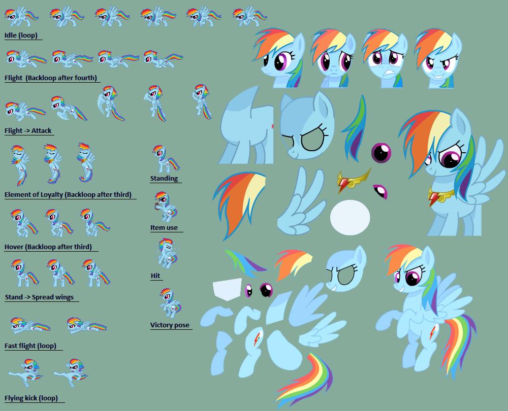 Everyone Vs Pony's - Page 2 Rainbo10