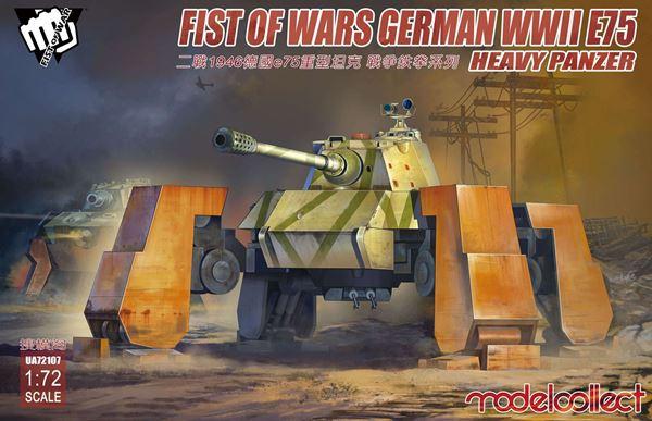 E75 Heavy Panzer  1/72 Modelcollect 00034610