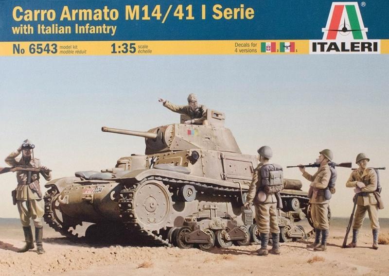 Carro Armato M14/41 Italeri 1/35 (FINI) 10296810