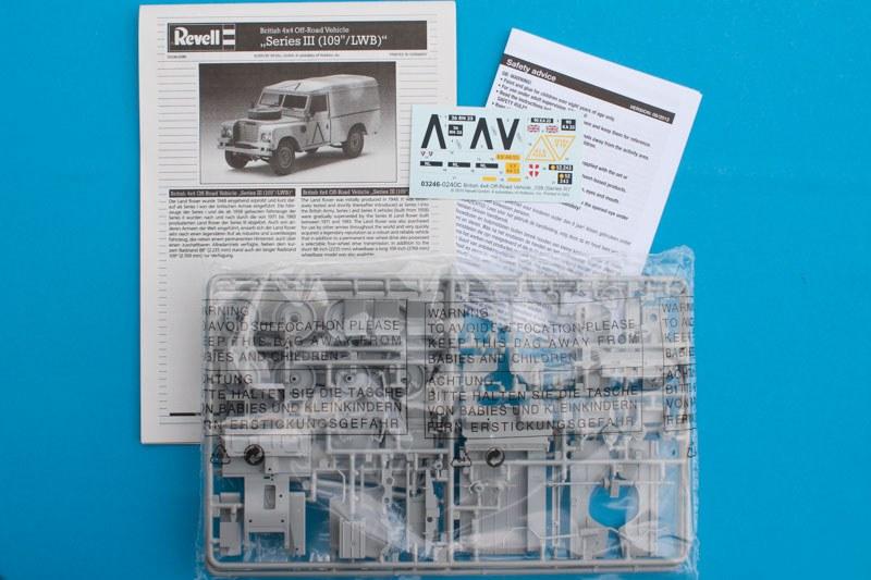 Land Rover - Revell 1/35 (FINI) 10426-10