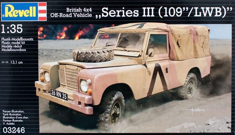Land Rover - Revell 1/35 (FINI) 10426-11