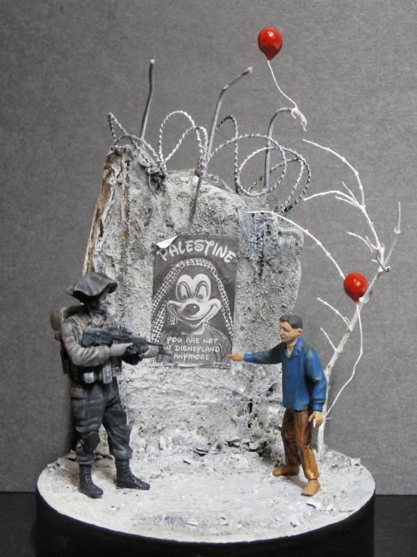 Défi noir & blanc : Palestine - figurine Meng + figurine MB 1/35 *** Terminé en pg 1 118