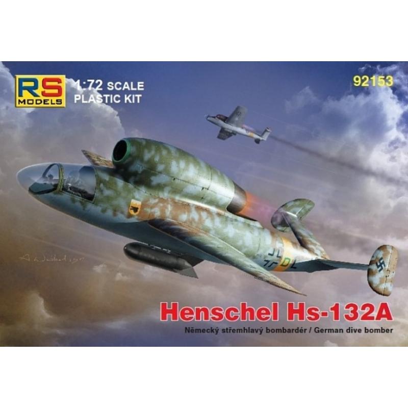 Henschell Hs 132A - RS Models 1/72 124