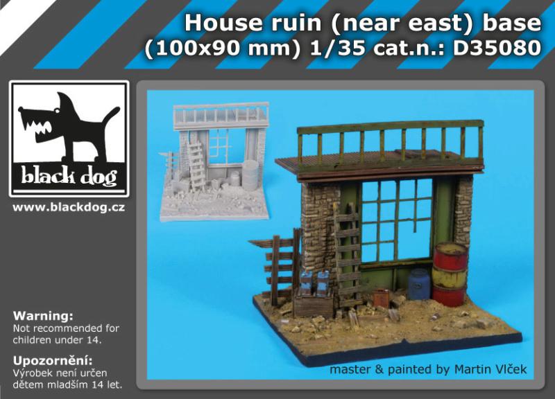 """House ruin"" Black Dog 1/35 (FINI) 17256_10"