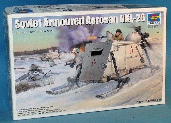 Soviet armoured Aerosan NKL-26 Trumpeter 1/35 1_hn-a10