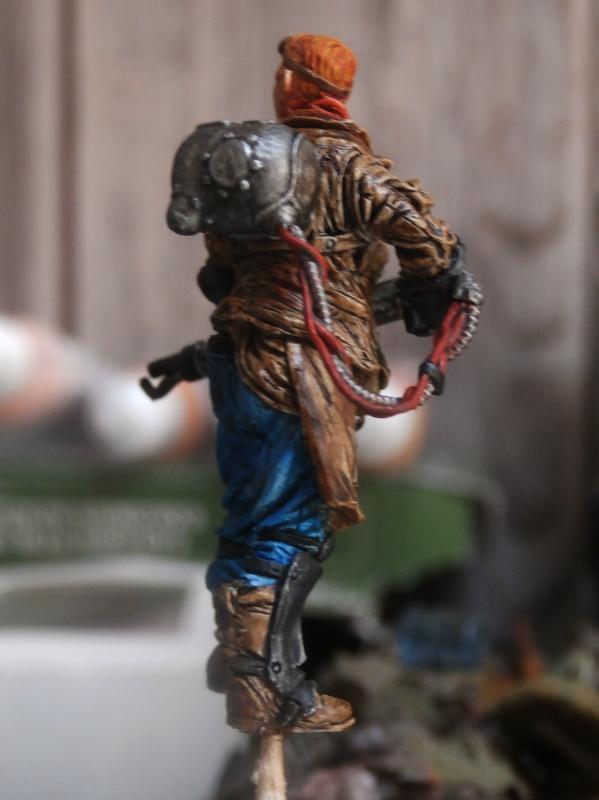 """""""The cleaner"""" diorama 1/35 (FINI) 1a10"""