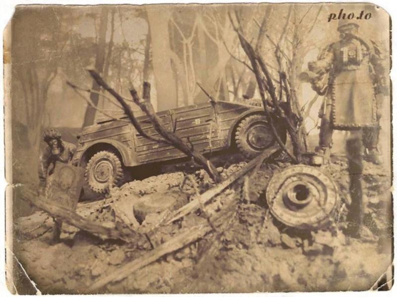 "Corvée d' eau saharienne-[tamiya] Jeep, [italeri] Dodge wc 62 1/35 Goumier ICM indigène MB ""FIN"" - Page 8 50577910"