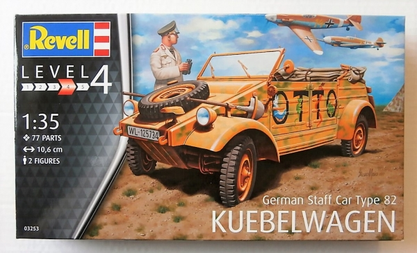 "F.I.A ""Drache"" figurine Maim 1/35 + Kubelwagen Revell 1/35 (FINI) 5311p110"