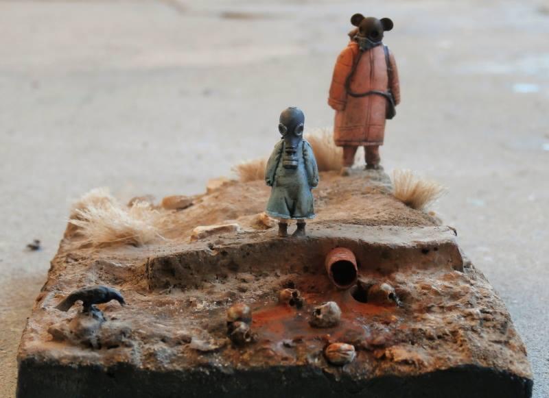 Afghanistan scène 1 - Figurines Djitis Production + figurine Meng 1/35 (FINI) - Page 2 58049110