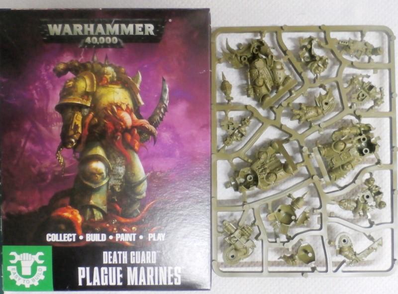Death Guard Plague Marines - Warhammer - 28mm (FINI) 64449710