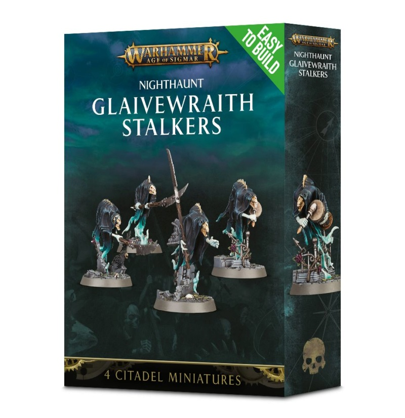 Glaive wraith Stalkers - Figurines Warhammer (FINI) 99120212