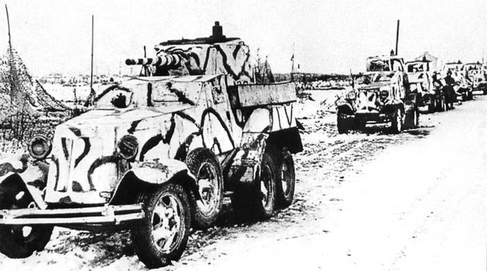 BA-10 Soviet armored car Zwezda 1/35 Ba-10-10