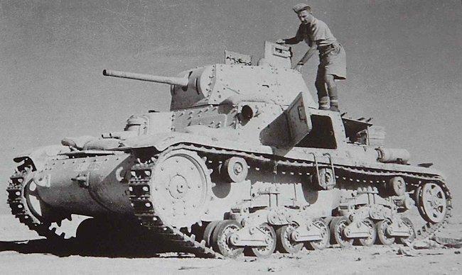Carro Armato M14/41 Italeri 1/35 (FINI) Captur10
