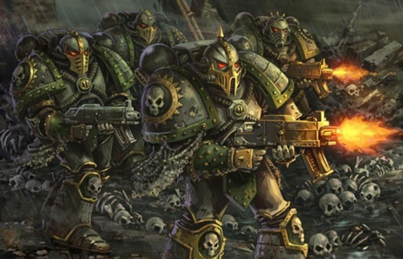 Death Guard Plague Marines - Warhammer - 28mm (FINI) Death-10