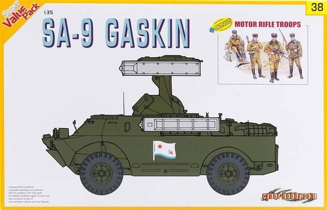 SA-9 Gaskin - Dragon 1/35 (FINI) Dra91310