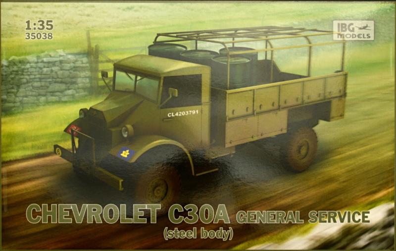 Chevrolet C30A General Service (IBG 1/35) Ibg-3510
