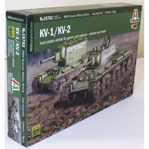 KV-2 Italeri 1/56 + figurine Achtung!Chtulhu 28mm (FINI) Italer16