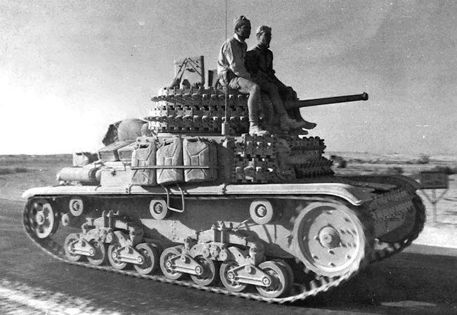 Carro Armato M14/41 Italeri 1/35 (FINI) - Page 3 M14-4110