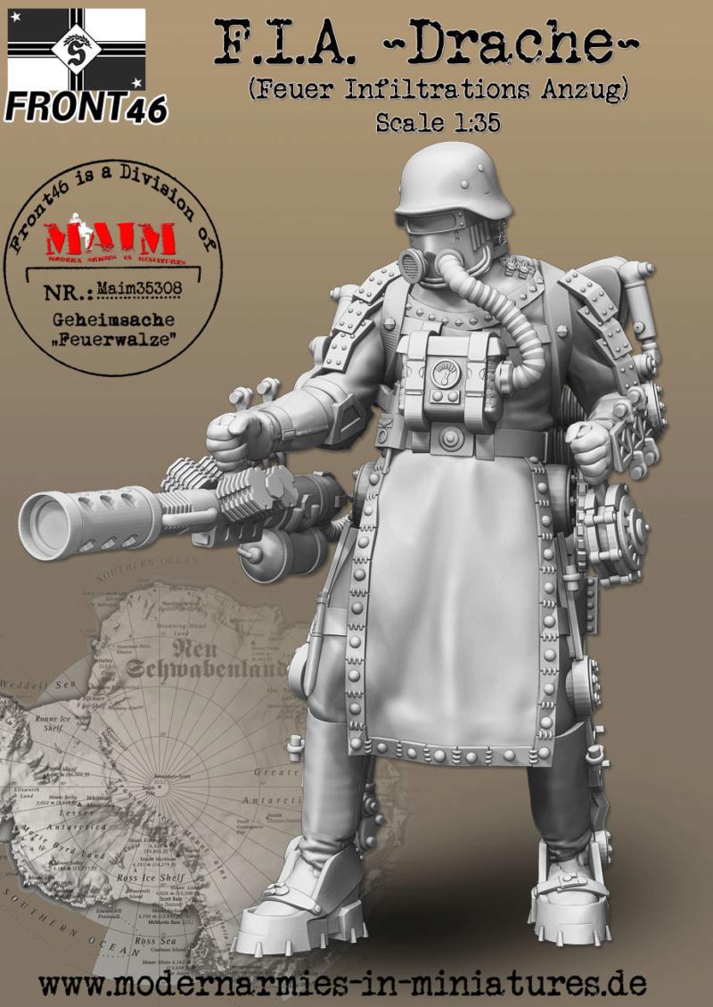 "F.I.A ""Drache"" figurine Maim 1/35 + Kubelwagen Revell 1/35 (FINI) Maim3516"