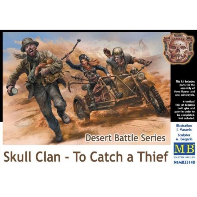 Skull Clan - diorama 1/35 - Dragon + MB Master15