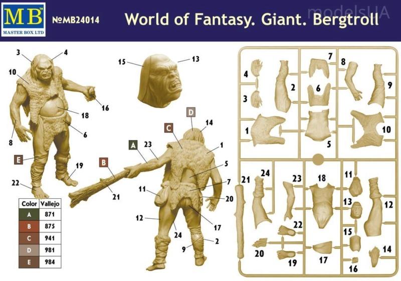 Géant Bergtroll (MB 1/24) (FINI) A taaaaaaable!!! Mb240111