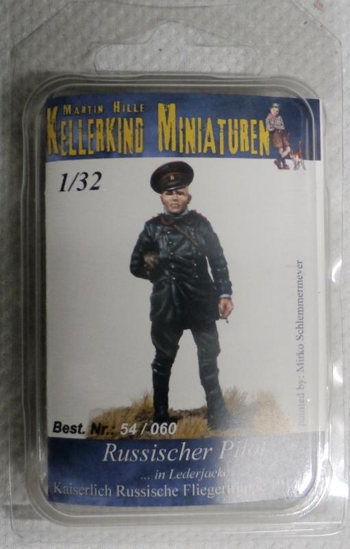 Pilote russe 14-18 figurine Kellekind Miniaturen 1/32 (FINI) P1130012
