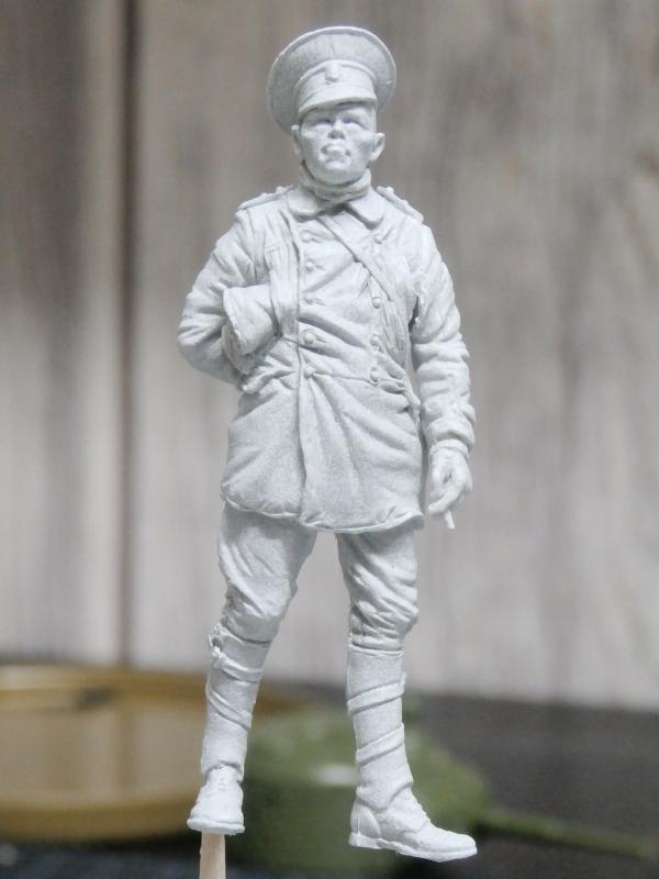 Pilote russe 14-18 figurine Kellekind Miniaturen 1/32 (FINI) P1130013