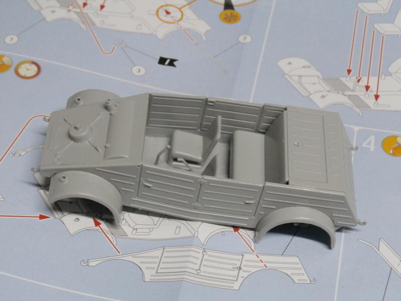 "F.I.A ""Drache"" figurine Maim 1/35 + Kubelwagen Revell 1/35 (FINI) P1150010"
