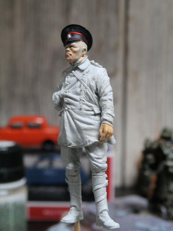 Pilote russe 14-18 figurine Kellekind Miniaturen 1/32 (FINI) P1170014