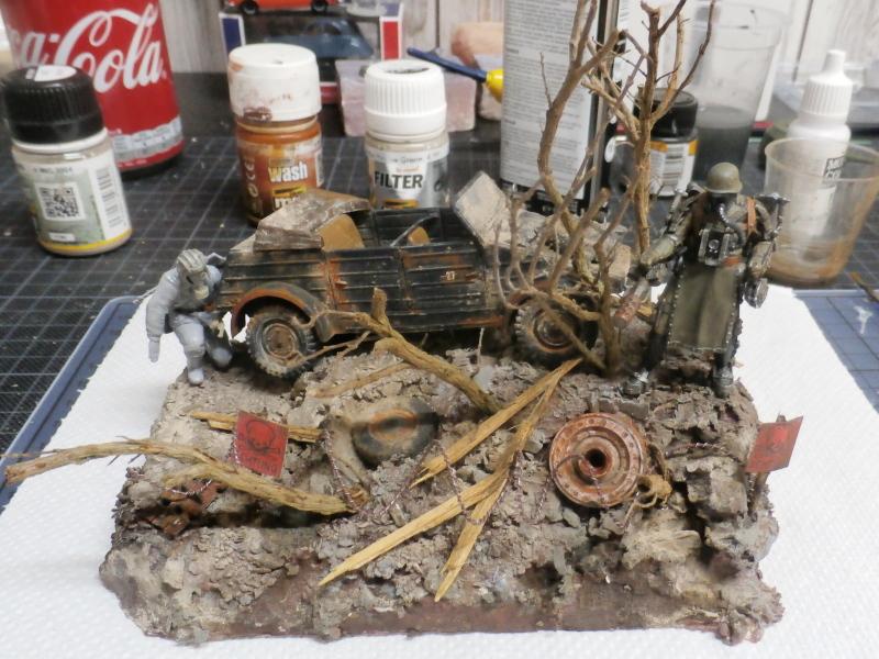 "F.I.A ""Drache"" figurine Maim 1/35 + Kubelwagen Revell 1/35 (FINI) - Page 2 P1180015"
