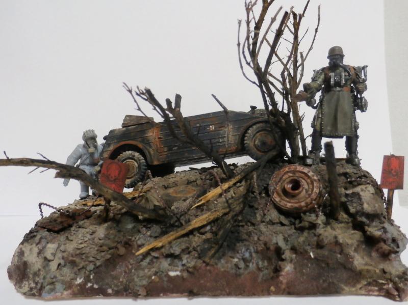 "F.I.A ""Drache"" figurine Maim 1/35 + Kubelwagen Revell 1/35 (FINI) - Page 2 P1180018"