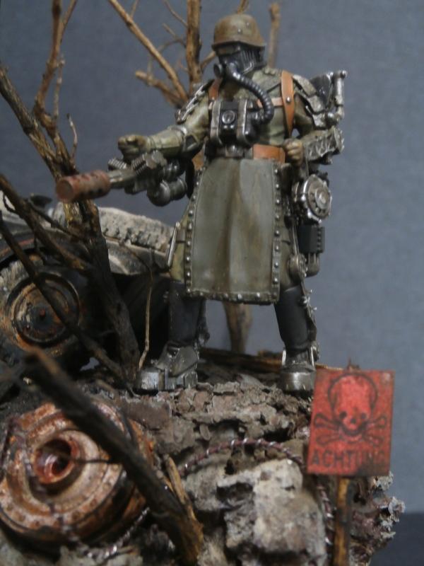"F.I.A ""Drache"" figurine Maim 1/35 + Kubelwagen Revell 1/35 (FINI) - Page 2 P1200010"