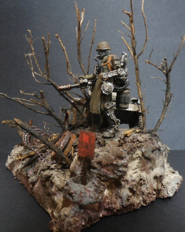 "F.I.A ""Drache"" figurine Maim 1/35 + Kubelwagen Revell 1/35 (FINI) - Page 2 P1200014"