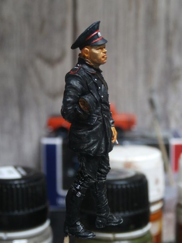 Pilote russe 14-18 figurine Kellekind Miniaturen 1/32 (FINI) P1260018